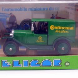 """Opel Laubfrosch Camionnette 1925 """" Pneus Continental """" - Eligor - 1/43ème En boite"""