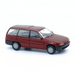 Opel Astra Break (bordeaux) - Rietze - 1/87ème En boite