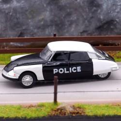 Citroen DS Police - Norev - 3inch en boite