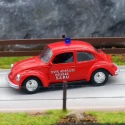 Volkswagen Coccinelle SAMU - Norev - 3 Inche En boite