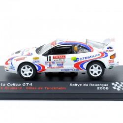 Toyota Celica GT4 - Rallye du Rouergue 2008 - 1/43ème En boite