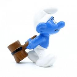 Figurine Schtroumpf avec Marteau - Schleich - Germany Peyo