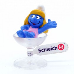 Schtroumpfette Coupe de Champagne - Schleich - Germany Peyo