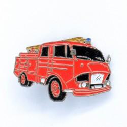 Pin's Camion de Pompier Citroen CCL 700