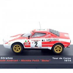 Lancia Stratos - Tour de Corse 1974 - 1/43ème En boite