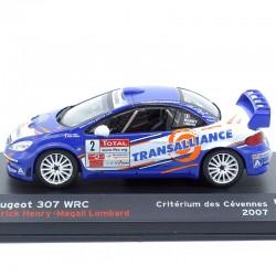 Peugeot 307 WRC - Critérium des Cévennes 2007 - 1/43ème en boite