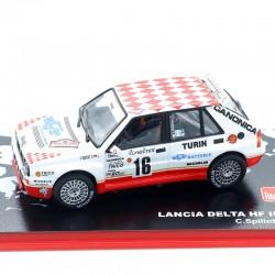 Lancia Delta HF Integrale - Rallye Monte Carlo 1993 - 1/43ème