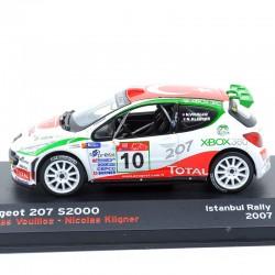 Peugeot 207 S2000 - Rallye Istanbul 2007 - 1/43ème en boite