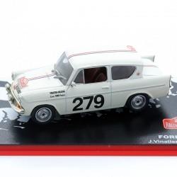 Ford Anglia - Rallye Monte Carlo 1963 - 1/43ème en boite