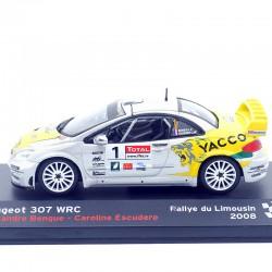 Peugeot 307 WRC - Rallye du Limousin 2008 - 1/43ème En boite