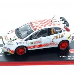 Fiat Punto S2000 - Rallye Monte Carlo 2009 - 1/43 ème En boite