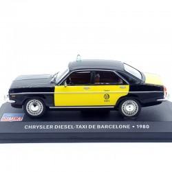Chrysler Diesel - Taxi de Barcelone - 1/43ème En boite