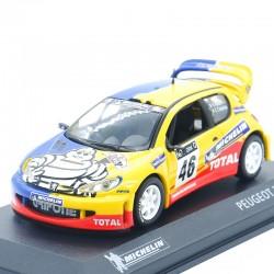 Peugeot 206 WRC Michelin - 1/43ème Sous blister