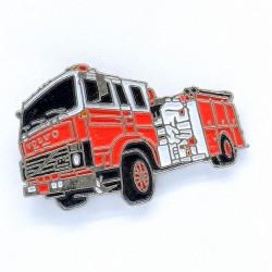 Pin's Camion de Pompier Volvo FL7