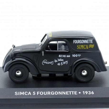 Simca 5 Fourgonnette - 1/43ème En boite