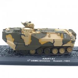Véhicule blindé AAVP7 A1 - Koweit 1991 - 1/72ème en boite