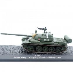 Tank T-55A - Tchécoslovaquie 1968 - 1/72ème en boite