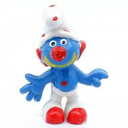 Figurine Schtroumpf - Clown - Schleich Peyo - En plastique