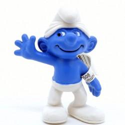 Figurine Schtroumpf Joyeux - Schleich - En plastique