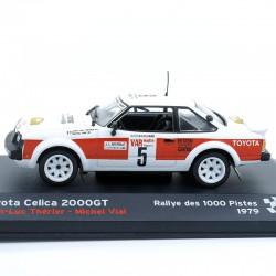 Toyota Celica 2000GT - Rallye 1000 Pistes 1979 - 1/43ème en boite