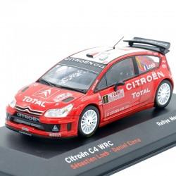 Citroen C4 WRC - Rallye Monte Carlo 2008 - 1/43ème en boite