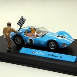 Michel Vaillant Le Mans '61 - 1/43 ème En boite