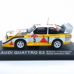 Audi Quattro E2 - Rallye Sanremo 1985 - 1/43 ème En boite