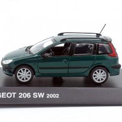 Peugeot 206 SW - 1/43ème Sous blister