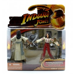Figurines Indiana Jones - Marion Ravenwood et Cairo Henchman - Hasbro
