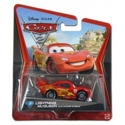 Flash Mc - Cars 2 - Mattel - 3 Inche Sous Blister