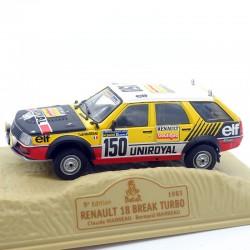 Renault 18 Break Turbo - Paris/Dakar 1983 - 1/43ème En boite