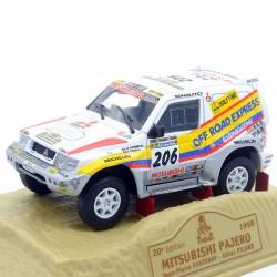 Mitsubishi Pajero - Paris/Dakar 1998 - Norev - 1/43ème En boite