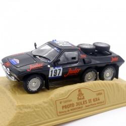 Proto Jules II 6x4 - Paris/Dakar 1984 - Norev - 1/43ème En boite
