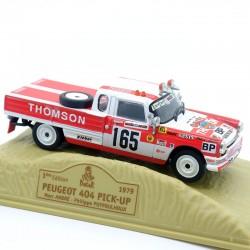 Peugeot 404 Pick-UP - Paris/Dakar 1979 - Norev - 1/43ème En boite