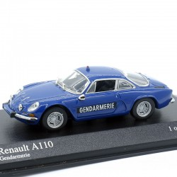 Renault A110 Gendarmerie - Minichamps - 1/43ème En boite