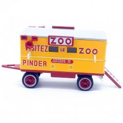 Caravane zoo - 1/43ème sous blister