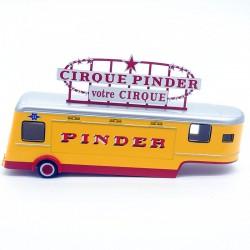 Caravane votre cirque - Pinder - 1/64ème  sous blister
