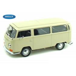 Volkswagen Combi Bus T2 - 1/24eme en métal fabriqué par Welly