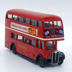 "Bus ""green line"" double decker - 1/50ème - Solido en boite"
