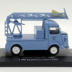 "Citroën Type HY ""EDF""  1963 - 1/43ème - Eligor sous blister"