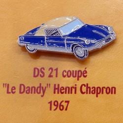 Pin's Citroen DS 21 Coupe Le Dandy  Henri Chapron 1967