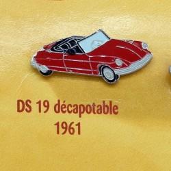 Pin's Citroen DS 19 Décapotable 1961