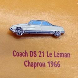 Pin's Citroen Coach DS 21 Le Léman Chapron 1966
