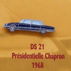 Pin's Citroen DS 21 Présidentielle Chapron 1968
