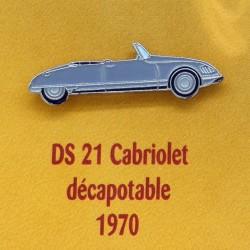 Pin's Citroen DS 21 Cabriolet Décapotable 1970