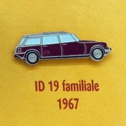 Pin's Citroen ID 19 Familiale 1967