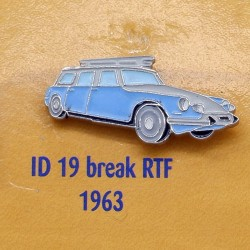 Pin's Citroen ID 19 Break RTF 1963