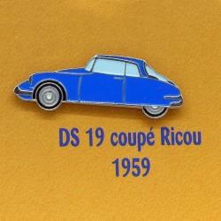 Pin's Citroen DS 19 Coupé Ricou 1959