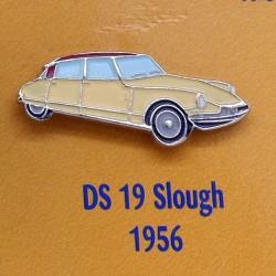 Pin's Citroen DS 19 Slough 1956