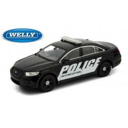 Ford Police Interceptor USA - 1/24eme en métal fabriqué par Welly
